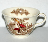 VINTAGE THE OLD MILL by JOHNSON BROS TEA / COFFEE CUP made in England