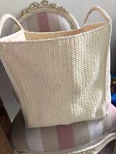 Ikea Lidan Cream Shopping /Carry/Storage Bag