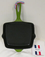 New Baccarat Le Connoisseur Grill Pan Green  26cm (RRP $119.99) Induction safe