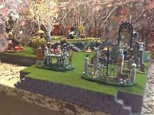 Halloween Village Display Platform for Lemax Spooky Town, Department 56