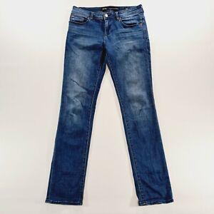 RIDERS Bumpster Straight Leg Blue Denim Jeans Size 13