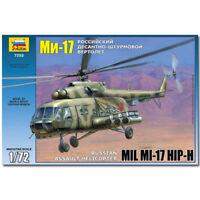 ZVEZDA 7253 MIL MI-17 Sov. Helicopter Model Kit 1:72