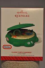 Hallmark - Classic Turtle Sandbox - Little Tikes - Keepsake Ornament