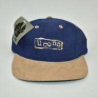UConn Huskies Vintage 90's Nu Image Adjustable Strapback Cap Hat - NWT
