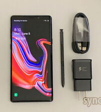 New listing Samsung Galaxy Note 9 N960U (Unlocked) 128Gb Verizon At&T T-Mobile - Black