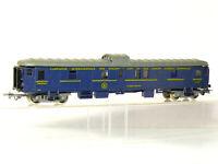 Jouef H0   4-achsiger Gepäckwagen der CIWL, blau, Schlussbeleuchtung