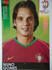 Panini 122 Nuno Gomes Portugal UEFA Euro 2008 Austria - Switzerland