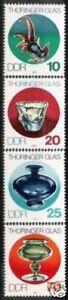 DDR Nr.2835/38 ** Thüringer Glas 1983, postfrisch