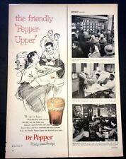 Life Magazine Ad DR PEPPER 1958 Ad