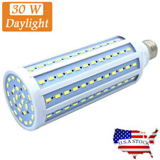 LED Bulb 144-Chip Corn Light E26 3000lm 30W Daylight 6000K Super Bright White