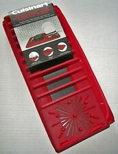 CUISINART DRYING MAT WITH RACK  RED