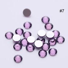 1728Pcs Nail Art Rhinestones Glitter Crystal Gems Tips Manicure 3D Decoration