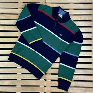 Mens Sweater Pullover Lacoste Vintage Size M