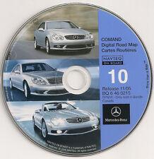 2002 2003 2004 2005 Mercedes G55 G500 G 500 Navigation CD Map #10 Cover Canada