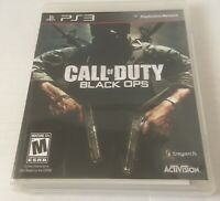 Call of Duty: Black Ops (Sony PlayStation 3, 2010) Complete With Manual PS3