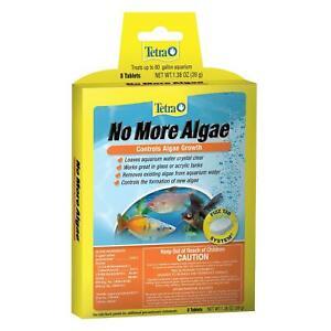 Tetra No More Algae fizz tabs maintenance 8 tablets tank buddies stops growth