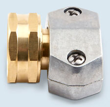 "GILMORE FEMALE HOSE COUPLING 3/4""-5/8"" Zinc & Solid Brass Posi Clamp Design"