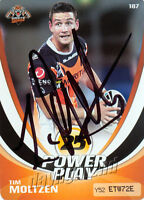 ✺Signed✺ 2013 WESTS TIGERS NRL Card TIM MOLTZEN Power Play