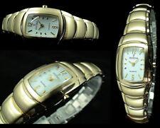 Festina Luxury Oval Shape Women's Watch Very Elegant & Pretty Ip Gold Plated