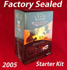 Xbox Live Starter Kit 12 Month Factory Sealed Brand New Original Rare Collectors