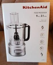 New listing KitchenAid 9 Cup Food Processor Plus, Kfp0919 Contour Silver, New