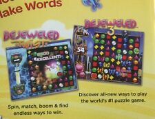 Bejeweled Twist +Bejeweled 3 +More 10 Full PopCap PC Games NEW IN BOX! Chuzzle