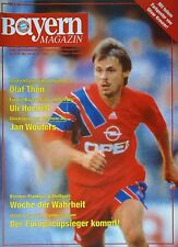 Programm 1992/93 FC Bayern München - Werder Bremen