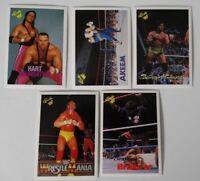 1990 Classic WWF WWE Wrestling Cards U Pick