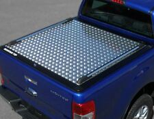 Ford Ranger 2016> NLG* Tonneau cover Double Cab Alloy Chequer Plate Bed Cover