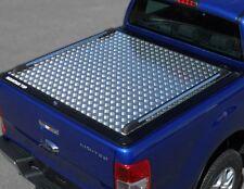 Ford Ranger 2016 > NLG * tonneau cover double cabine Alliage Chequer Plaque Lit Housse