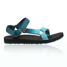 Zapatillas deportivas de mujer de tacón bajo (menos de 2,5 cm) de color principal azul Talla 36