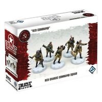 DUST - SSU - Red Guards Command Squad (Red Command) -=NEW=-