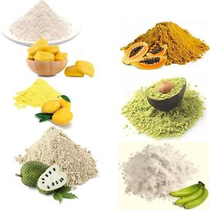 Fruit Powder Organic Lassi Mango Pineapple Banana Papaya Avocado jack fruit