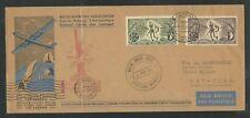 1946 BELGIUM CB1-2 cover - BASTOGNE Memorial