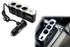 Dc 12V Car Cigarette Cigar Lighter Socket Splitter Power Adapter With Usb Port