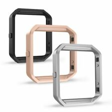 3pcs Band Frame For Fitbit Blaze, Simpeak Replacement Stainless Steel Frame