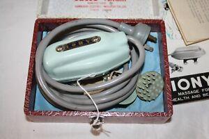 Vintage Iony Vibratory Massage Kawasaki Japan Boxed