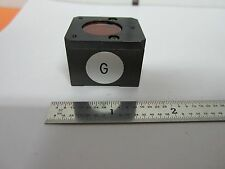 MICROSCOPE NIKON G OBJECTIVE PARTS DIC OPTICS NOMARSKI BIN#B3-W-16