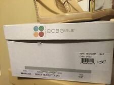 BCBGirls Teorema suede med heel  womens US shoe size 7