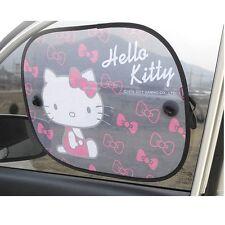 Sanrio Hello Kitty 2P Sun Shade Block Shield Car Accessories Free Shipping