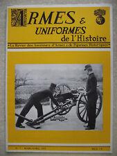 ARMES et UNIFORMES DE L'HISTOIRE n°7 La botte. Les sabres des hussards français