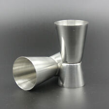 Durable Stainless Steel Measuring Cups Mixing Liquor Cup Bartender Bar 15/30ML