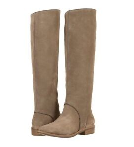 NEW IN BOX UGG Australia Mouse Gracen Riding Boots Suede Leather Tall u.s 7