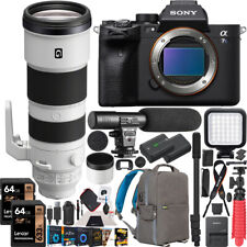 New ListingSony a7S Iii Mirrorless Camera + 200-600mm F5.6-6.3 G Lens Sel200600G Kit Bundle