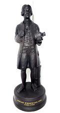 Black Basalt Jasperware Figure of Josiah Wedgwood FRS Ltd. Edition 1972