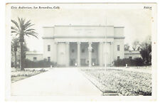 San Bernardino California Civic Auditorium