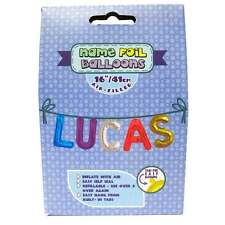 Royal County Products Name Foil Balloons - Lucas - New