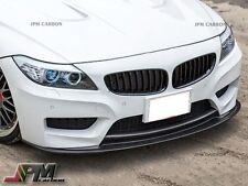 3D Style Carbon Fiber Front Bumper Add-on Lip For 09-15 BMW E89 Z4 M-Sport Only