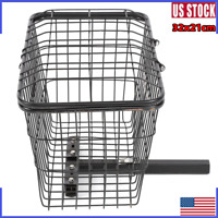 Rear Basket Accessory for Mobility Scooter Sturdy Center-Support FREE SHIP