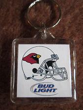 St. Louis Cardinals Budweiser Key Ring Football Keychain Bud Light Collectible